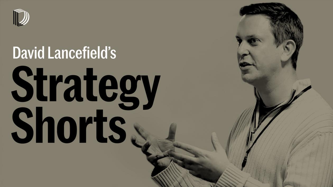 Strategy Shorts by David Lancefield